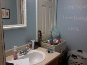 Double Vanity - Before