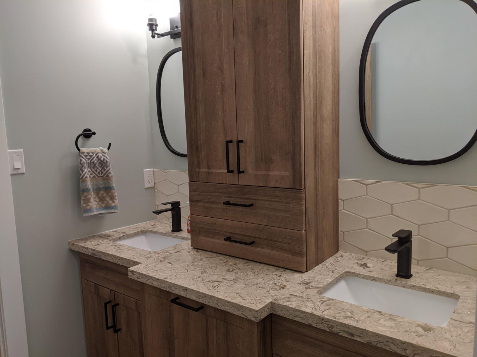 Double Vanity - After