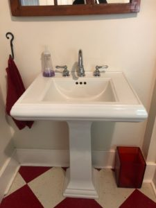 Laundry Room Sink - Before